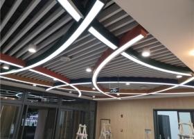 新东方沙坪坝师范大学校区软膜天花安装